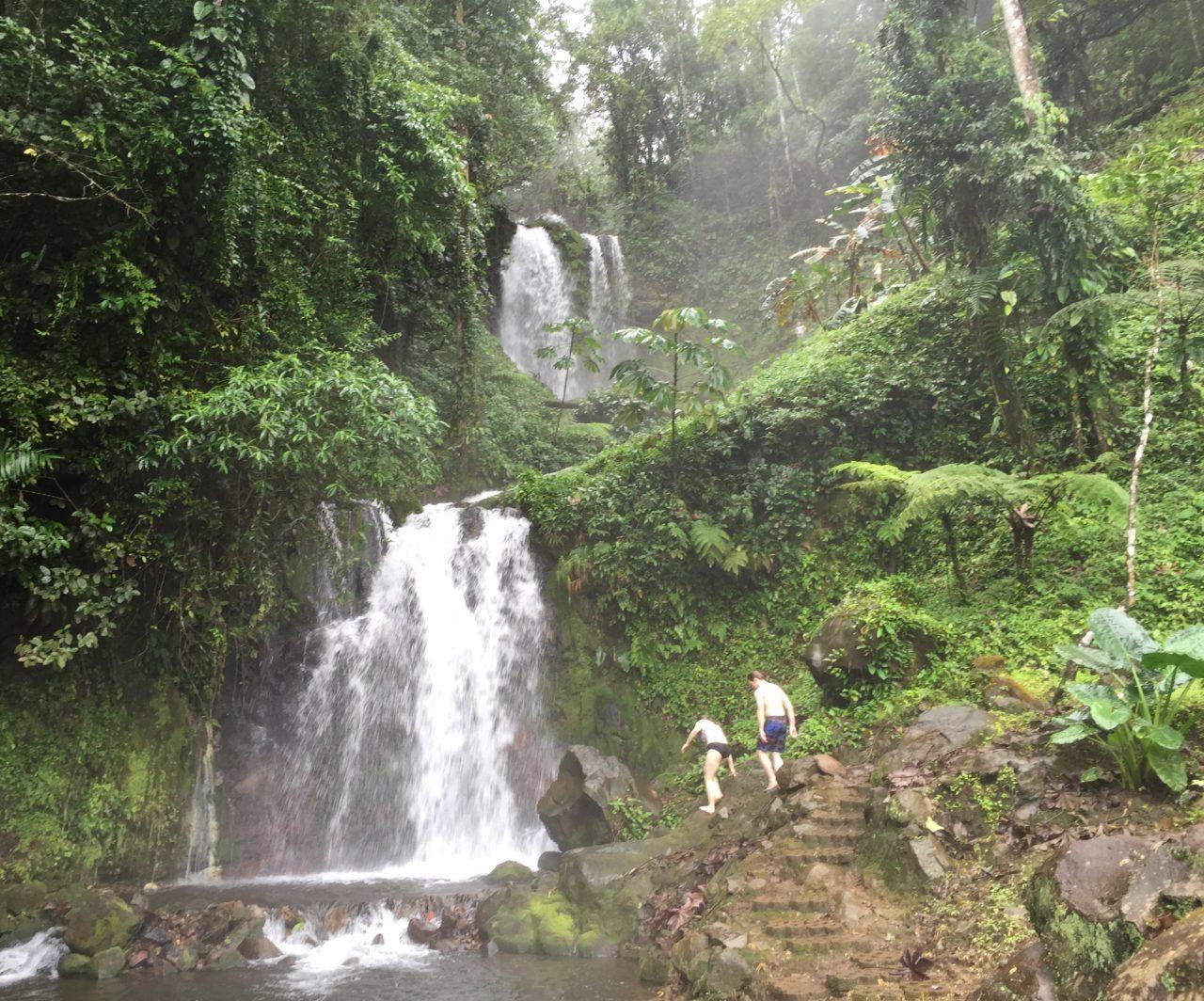 Tamarindo Costa Rica waterfalll