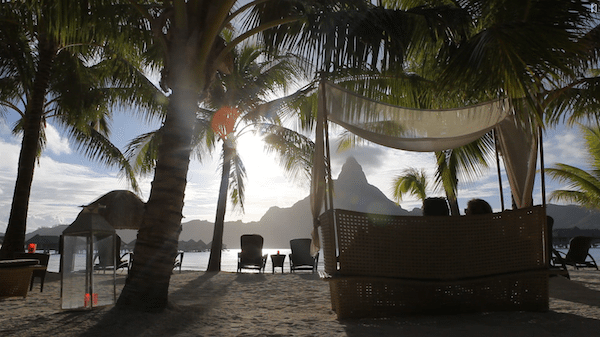 Bora Bora Honeymoon lounge