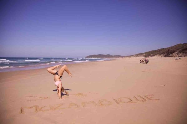 Mozambique beach honeymoon
