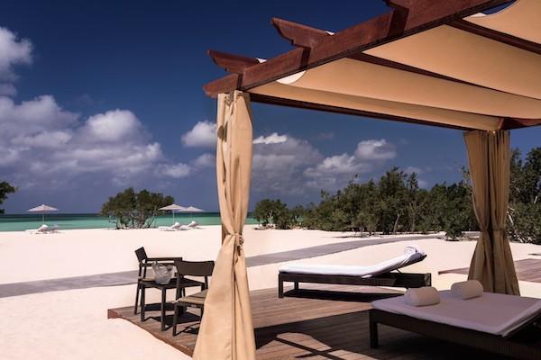 Aruba beach Ritz Carlton