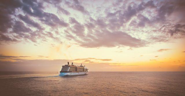 Honeymoon sunset cruise