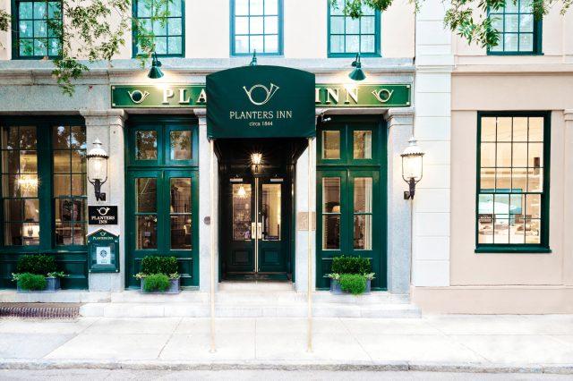 planters inn, Charleston in South Carolina USA