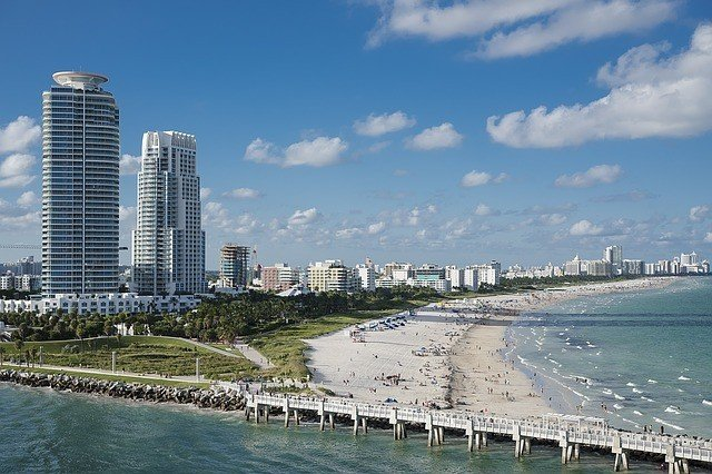 Miami spot for a honeymoon in the USA