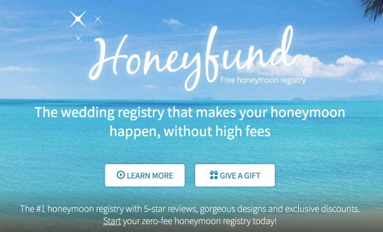 8 honeymoon registry websites to make wedding registries easy honeyfund is a zero fee online honeymoon registry with honeyfund you can customize a page for your guest to go to with wedding information malvernweather Images