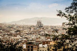 Barcelona, Spain for honeymooners