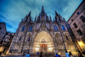 Barcelona, Spain cathedral