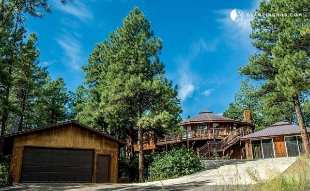 Unique Mountain Tree House Pagosa Springs with view and hot tub