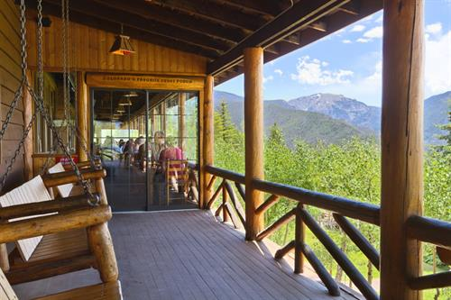 romantic cabin getaway with a view