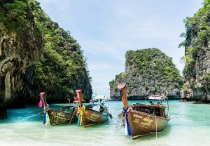 boats in thailand that honeymooners love