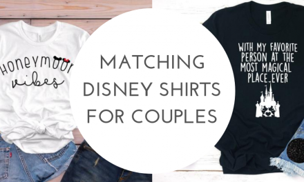 Matching Disney Couples Shirts For Your Disney Honeymoon
