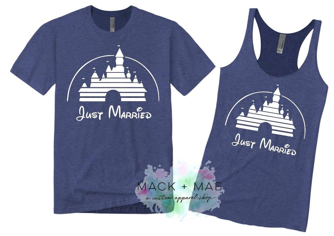 df3c6b691 ... Disney World or the iconic ears everyone knows. rocker wife t shirt ·  Just Married Matching Shirts