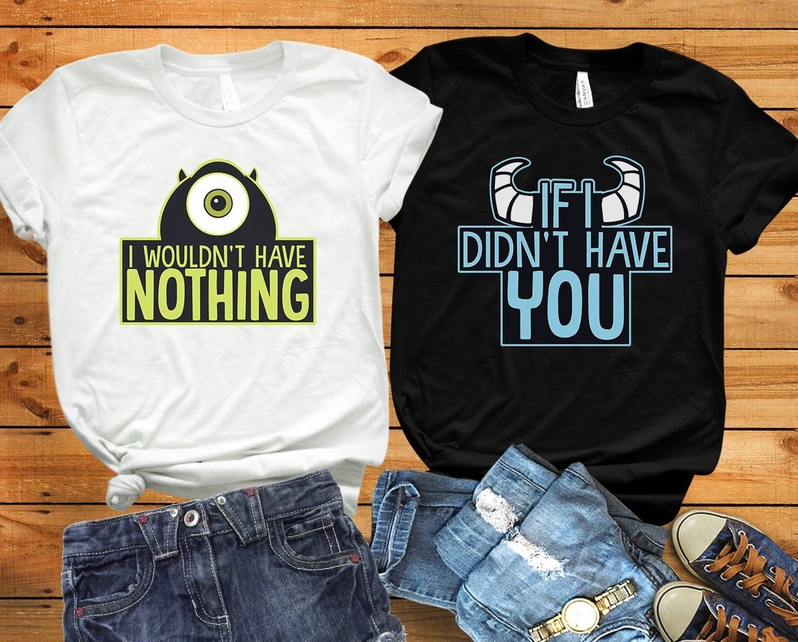 fdfc7783e Matching Disney Couples Shirts For Your Disney Honeymoon