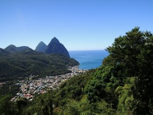 mountains of st lucia for honeymooners