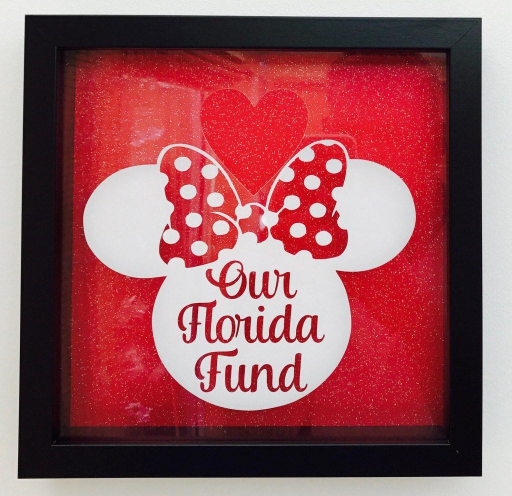 Our Florida Disney Vacation Fund Saver