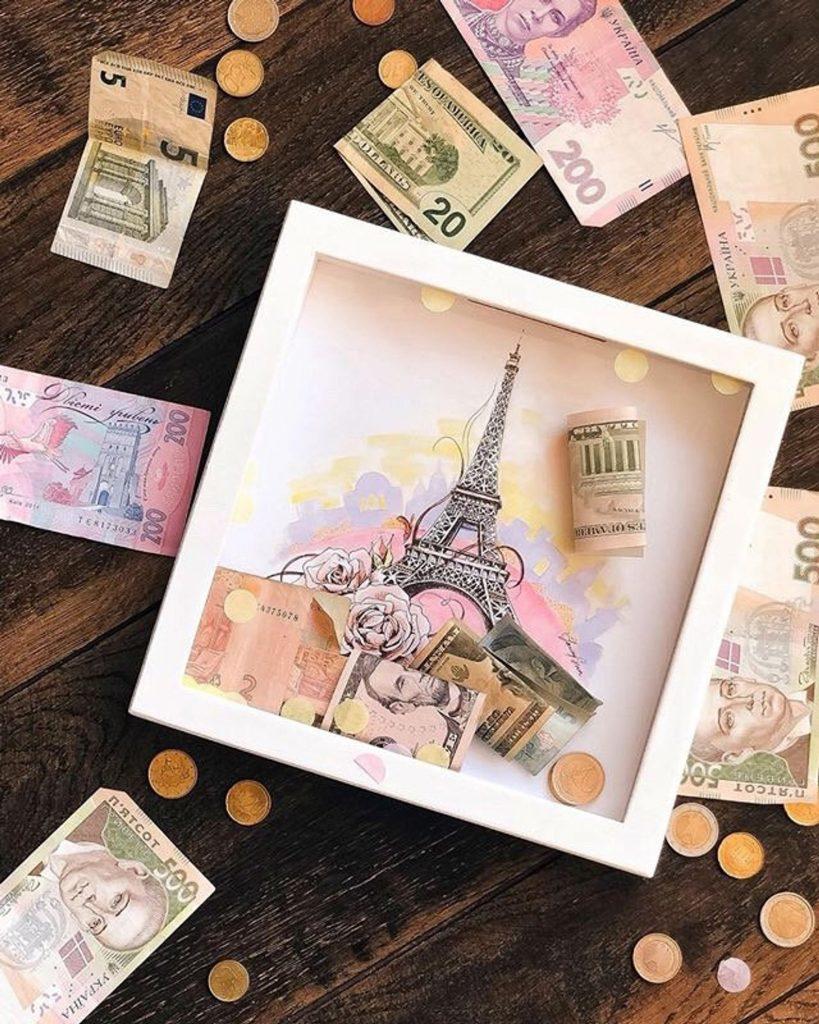 Paris Travel Fund Box