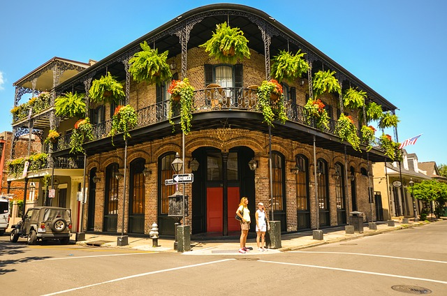a beautiful new orleans street