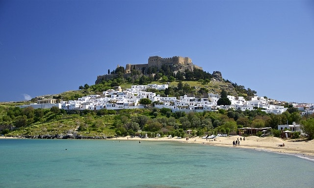 Rhodes honeymoon island