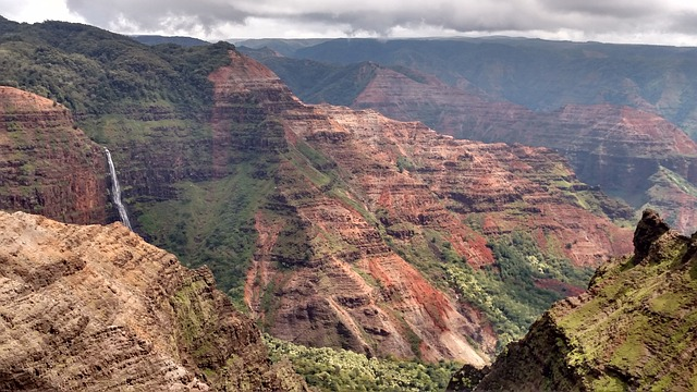 Canyons and cliffs of Kauai