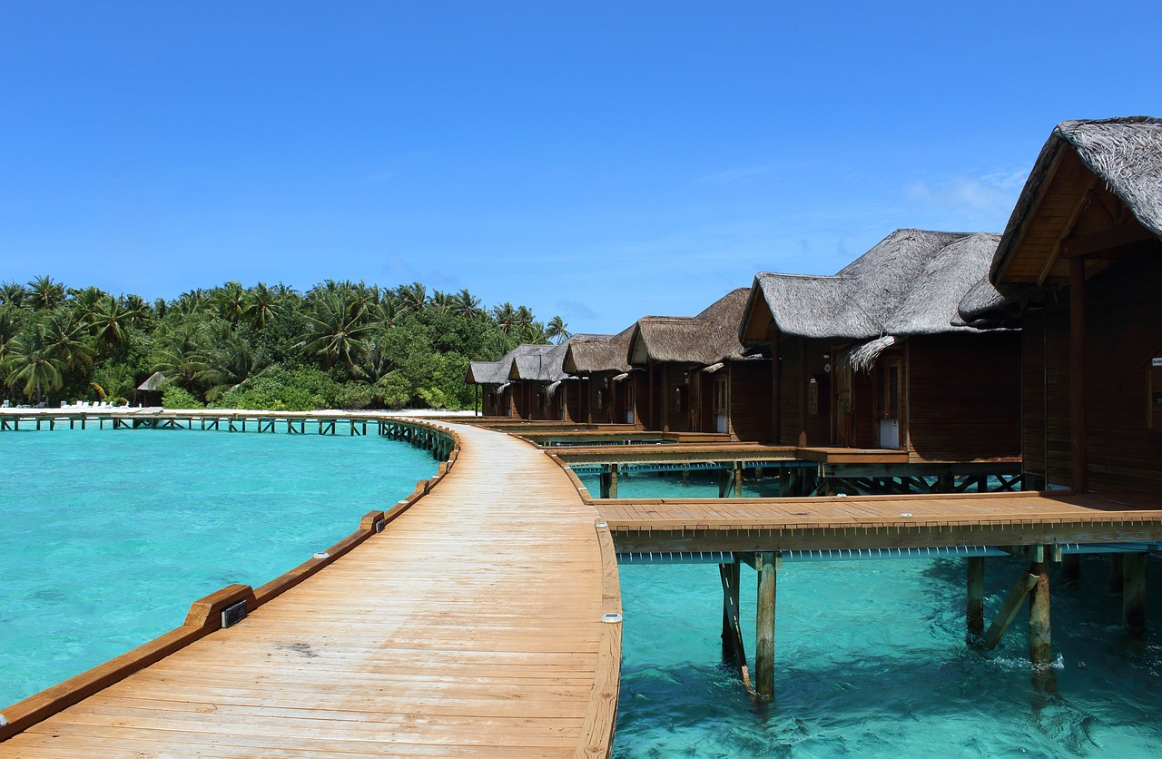 Maldives honeymoon bungalow
