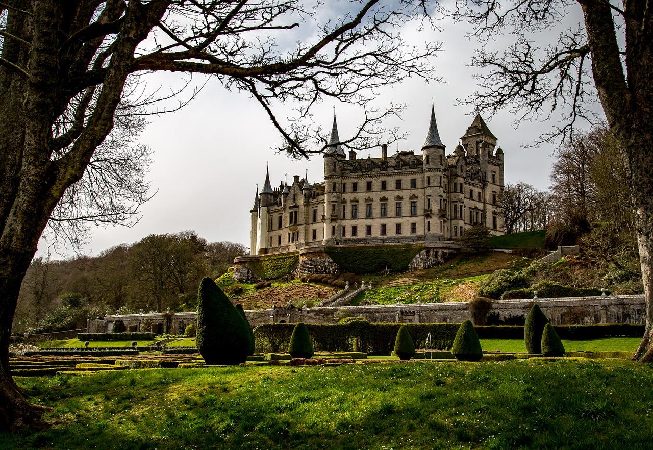 Scotland Castle Dunrobin