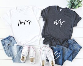 Honeymoon t shirts